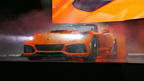 Reveal of the 2019 Corvette ZR1 Convertible from Los Angeles