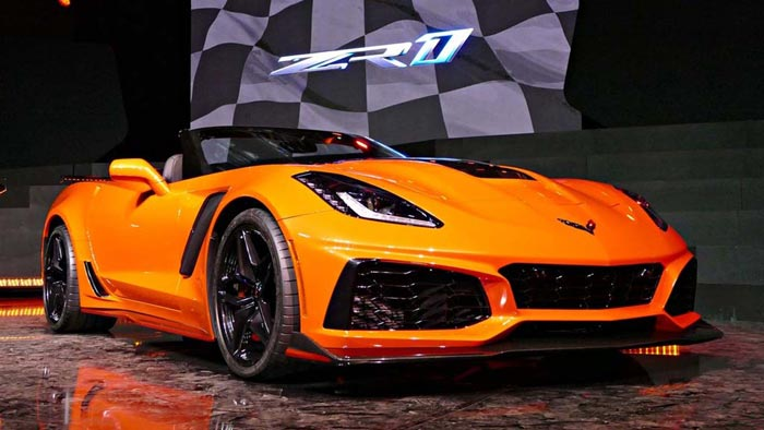 [VIDEO] Watch the Reveal of the 2019 Corvette ZR1 Convertible from Los Angeles