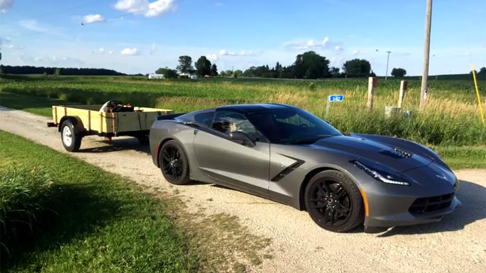 VIDEO] Pretty Nifty DIY Trailer Hitch for the C7 Corvette - Corvette ...