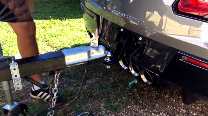 [VIDEO] Pretty Nifty DIY Trailer Hitch for the C7 Corvette