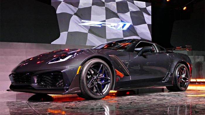The 2019 Corvette Zr1 Order Guide Is Now Available For