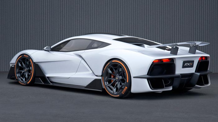 Aria Group Shows Off New FXE Mid-Engine Sports Car at LA Auto Show