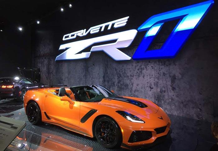 [GALLERY] The Corvette ZR1 from the LA Auto Show