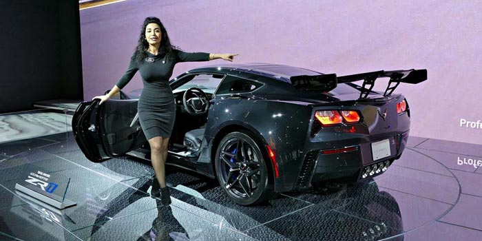 Watkins Auto Sales >> [VIDEO] The 2019 Corvette ZR1 Presentation from the LA