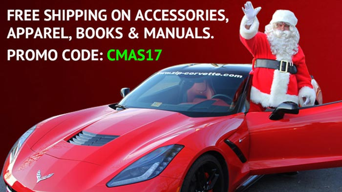 Last chance for Free Shipping on Corvette Gifts from Zip Corvette