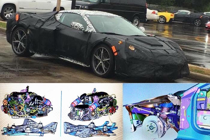 [SPIED] CAD Images of the Mid-Engine C8 Corvette Leaked to Web
