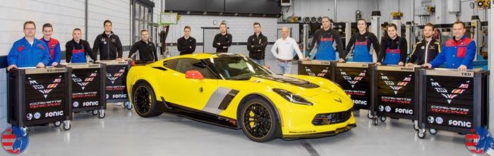 [PICS] European Shop with a Passion for Corvettes Gets Seven SONIC Corvette Racing Toolboxes