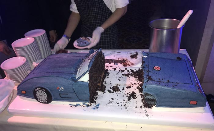 PIC Governor Cuomo Celebrates His 60th Birthday with a Cake