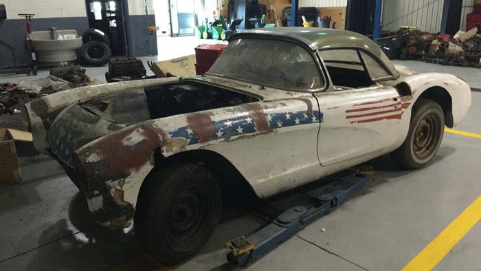 Corvettes on Craigslist: All American 1957 Corvette Project