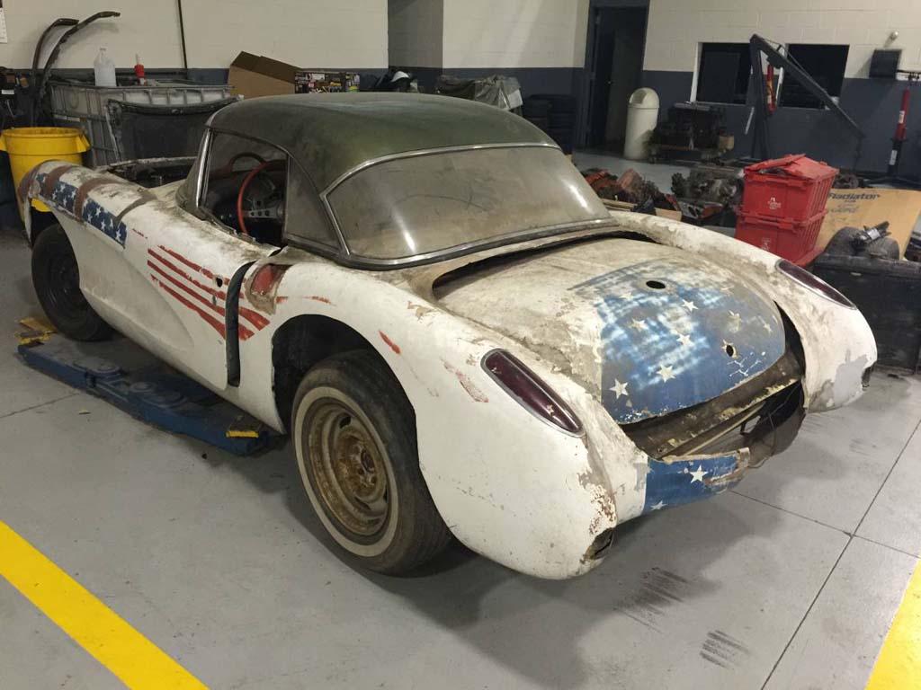 Corvettes on Craigslist: All American 1957 Corvette Project