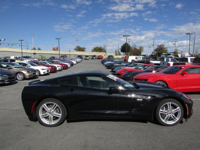 Black 2017 Chevrolet Corvette Stingray Coupe 2LT