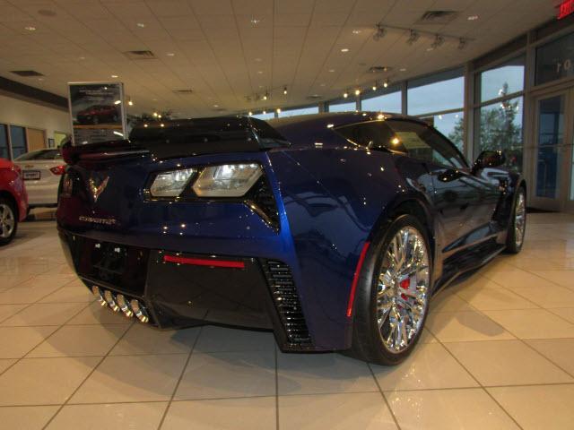 Admiral Blue 2017 Chevrolet Corvette Coupe Z06 3LZ