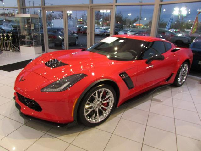 Torch Red 2017 Chevrolet Corvette Coupe Z06 1LZ