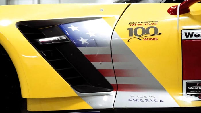 [VIDEO] Corvette Racing Teases the New Graphics on the Corvette C7.R for 2017