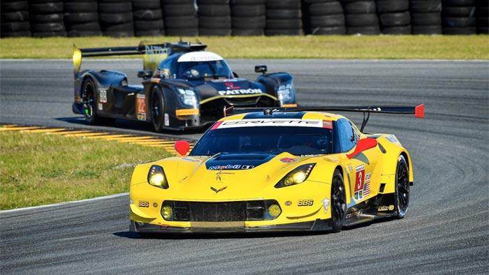 Corvette Racing at Daytona: Magnussen Sets Early GTLM Pace