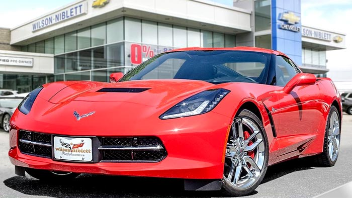 GM Reports Modest Increase in Canadian Corvette Sales During 2016