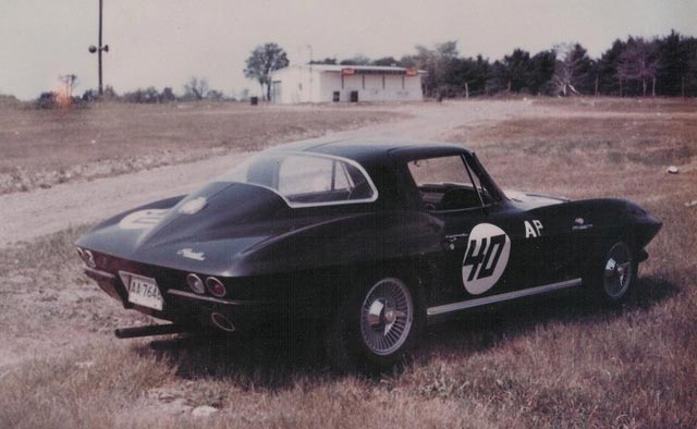 1964 Corvette company car that Tony took to SCCA driver's school
