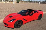 Man Uses Bald Eagles and Hot Girls to Sell His Corvette Stingray
