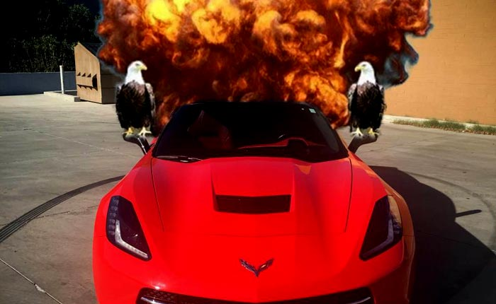 Corvettes on Craigslist: Man Uses Bald Eagles and Hot Girls to Sell His Corvette Stingray