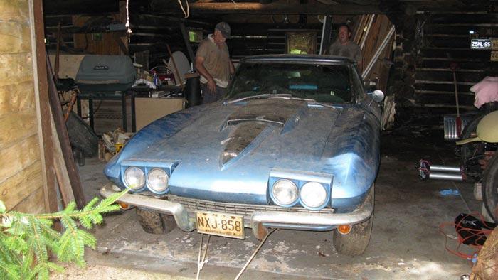1967 Big Block Corvette Rescued from 35 Year Slumber