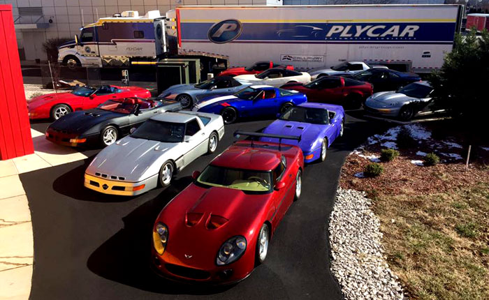 [PICS] Callaway Takes Over the Corvette Museum for 30th Anniversary Exhibit