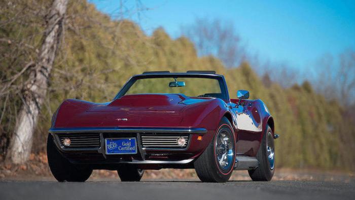 Bonhams to Offer a 1969 L88 Corvette Roadster at Scottsdale Auction