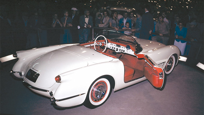 Corvette Shown to the World for the First Time on this Date in 1953