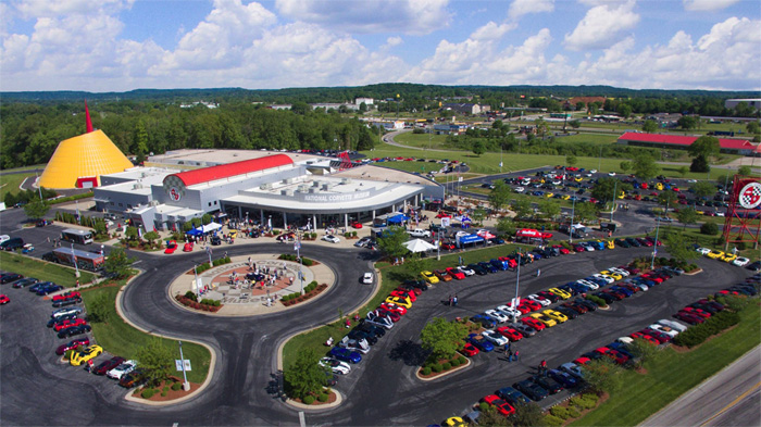 Corvette Museum Hosts 228,363 Visitors in 2016