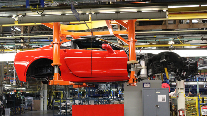 Corvette Assembly Plant to Shut Down for Several Months for Assembly Line Upgrades
