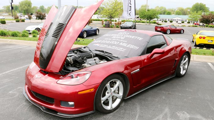 [VIDEO] Callaway's SC606 Corvette Grand Sport Surpasses 250,000 Miles