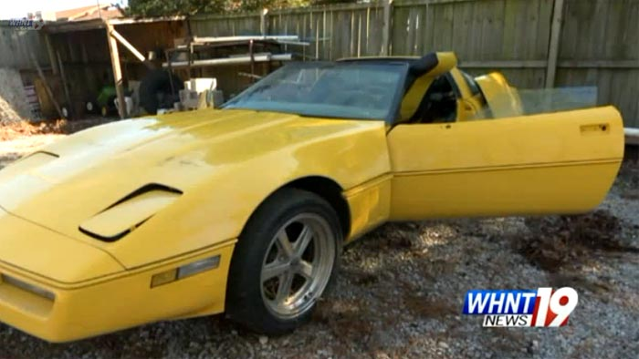 [VIDEO] Alabama Woman Gets Her C4 Corvette Back in Pieces from Chop Shop
