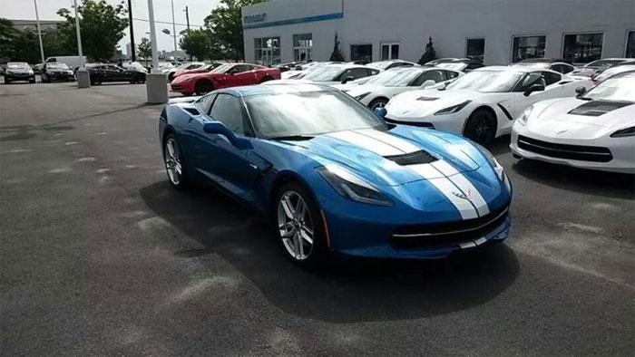 January 2017 Corvette Sales