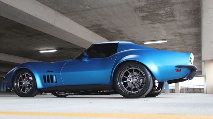 [PICS] Matte Blue 1969 Corvette Stingray on Forgeline Wheels