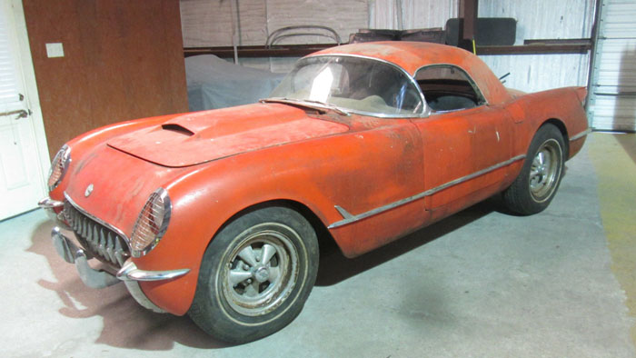Corvettes on eBay: 1954 Corvette Barn Find