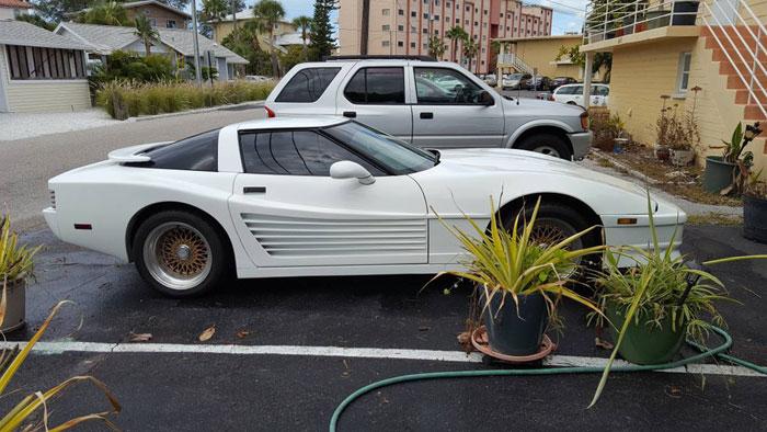 Corvettes on Craigslist: 1991 Corvette Testarossa - Corvette