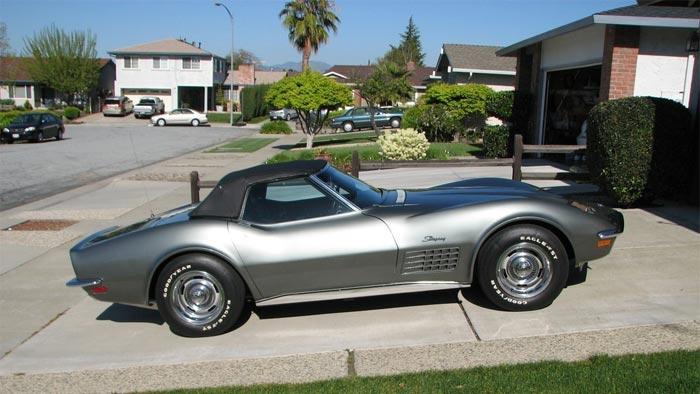 1971 Corvette in Steel Cities Gray