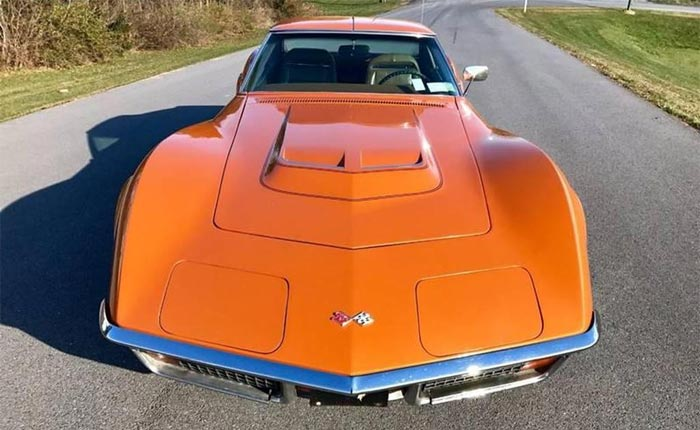 1972 Corvette in Ontario Orange