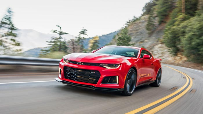 2017 Camaro ZL1 Hits 202 MPH in Official High Speed Test