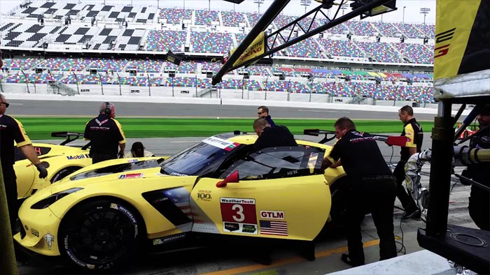 [VIDEO] Corvette Racing at Sebring: Practicing Pits Stops and Driver Changes Crucial for Success