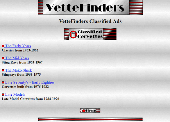 VetteFinders.com Turns 21 Years Old