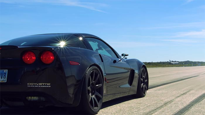 [VIDEO] Genovation GXE C6 Corvette Z06 Breaks Standing Mile and Top Speed Records
