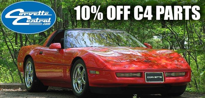 Save 10% On C4 Corvette Parts from Corvette Central