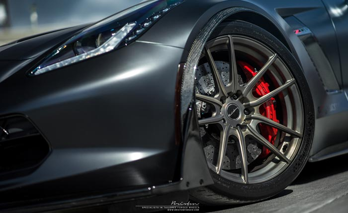 C7 Corvette Z06 with Brixton Forged M53 Ultrasport+ Wheels