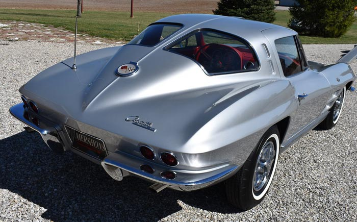 Couple Married Over 51 Years Relive Dream with Substitue 1963 Corvette Split Window