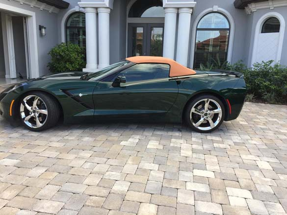 All Corvettes are Green