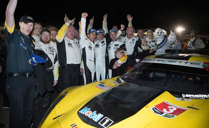 Corvette Racing at Sebring: Stirring Comeback for No. 3 Corvette C7.R