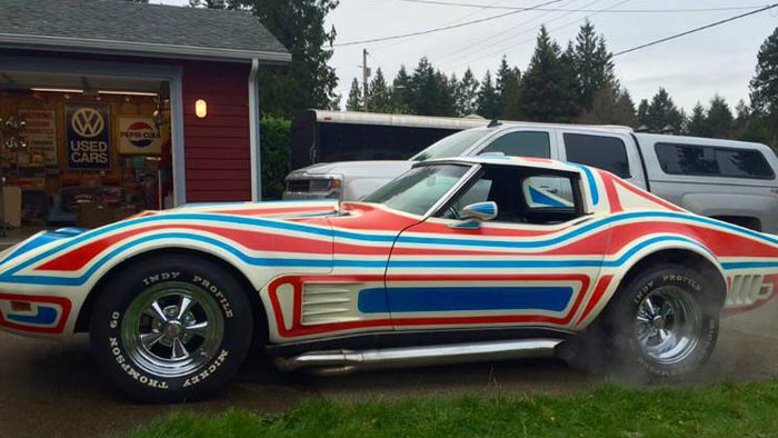 Corvettes on Craigslist: 1969 Custom Corvette Big-Block