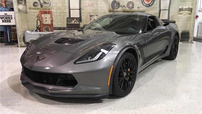2015 Corvette Z06 VIN 005