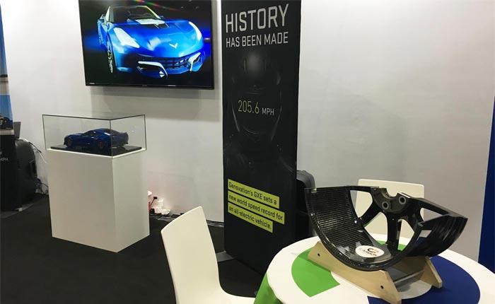Genovation's Electric Corvette to Ride on Carbon Fiber Wheels