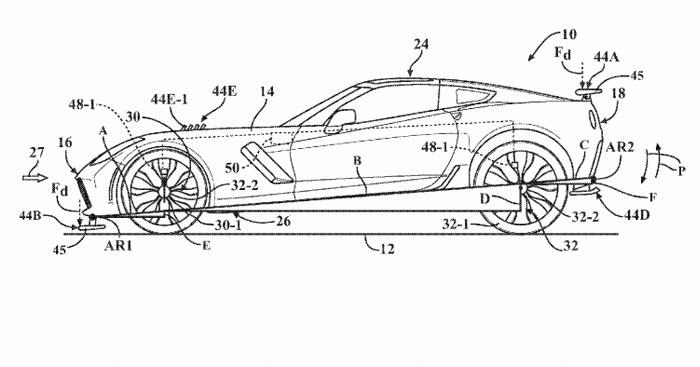 2018 Corvette ZR1 Patent Application